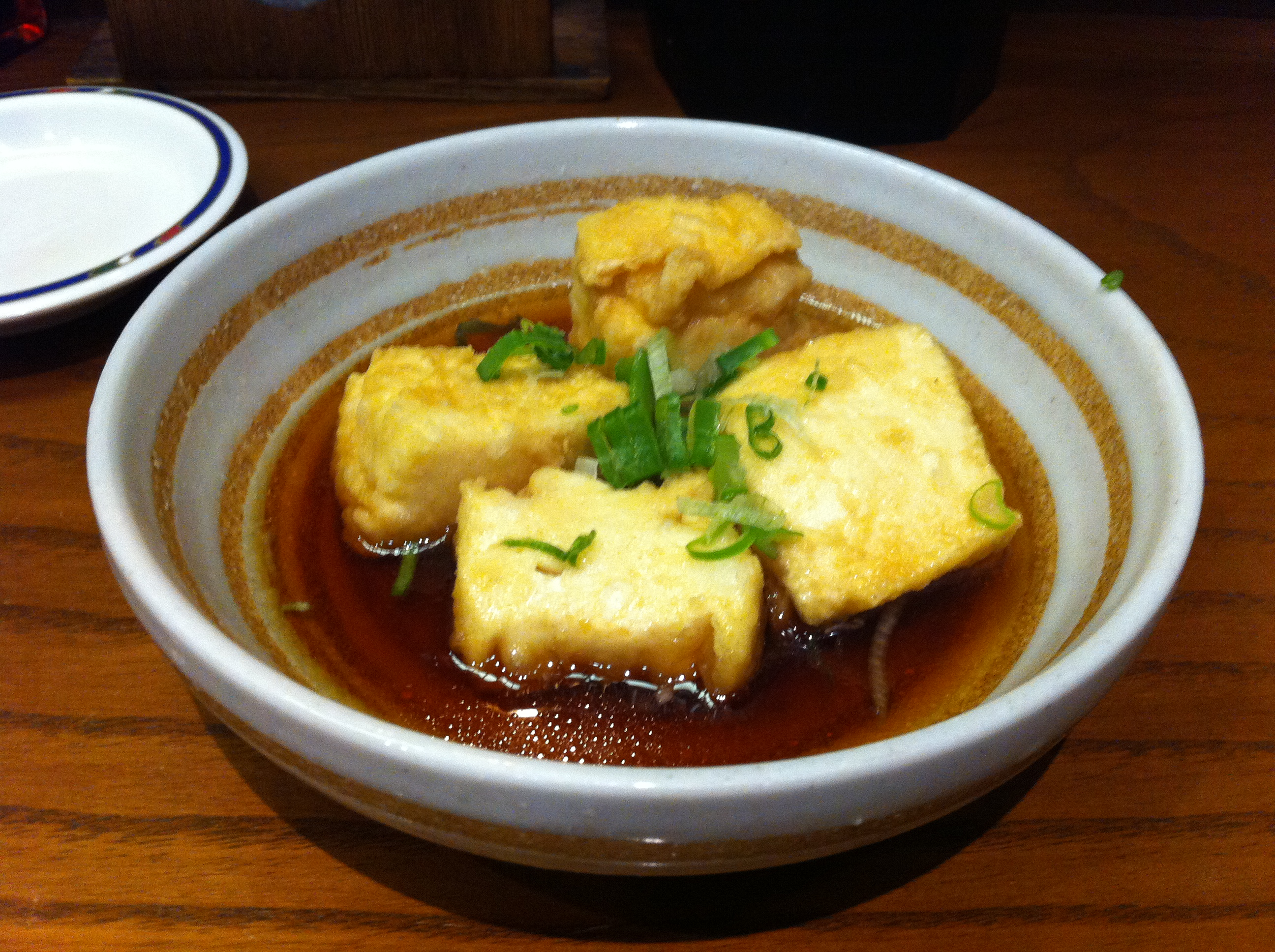 Agedashi tofu at Ten Ten Tei