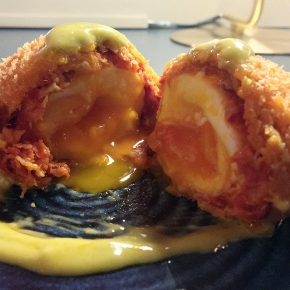 Opera Tavern review – nduja scotch eggs in a revamped West End pub