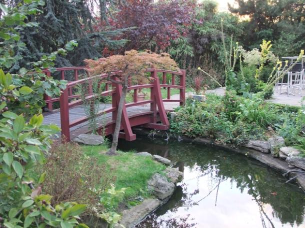 babylon roof gardens london japanese-style garden
