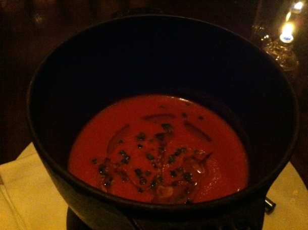 tomato fondue at nobhill tavern