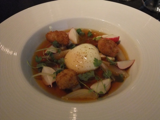broth of lamb at dinner by heston blumenthal