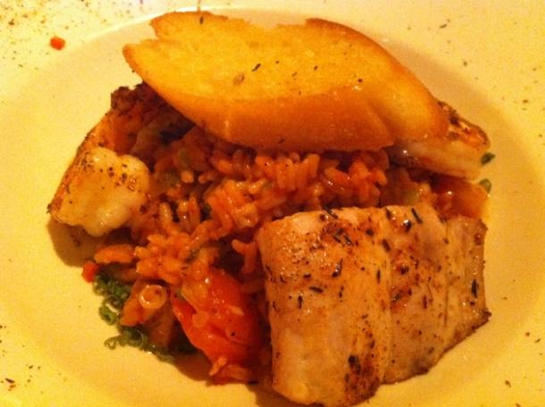 emeril's seafood pan roast