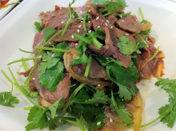 five spices beef at san xia ren jia