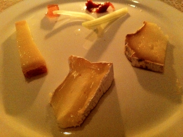 French cheeses at gauthier soho