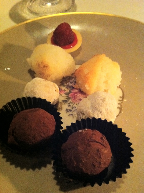 petit fours at gauthier soho