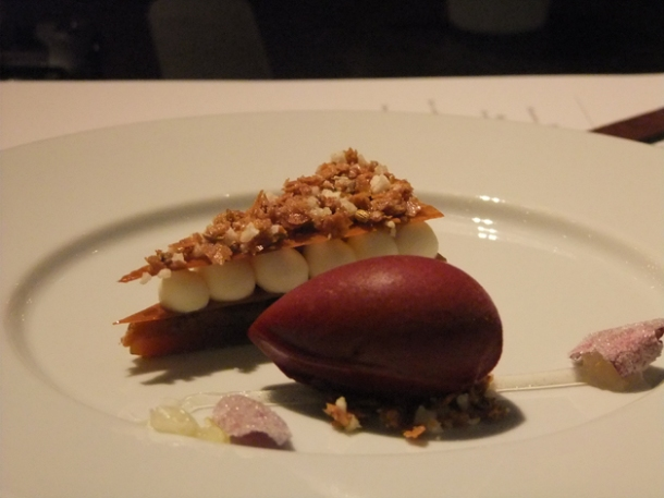 taffety tart at dinner by heston blumenthal