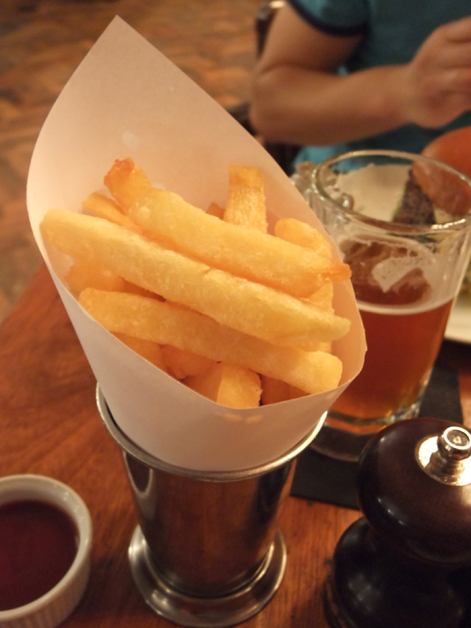 triple cooked chips at hawksmoor covent garden seven dials