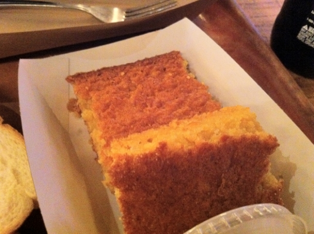 corn bread at hill country new york