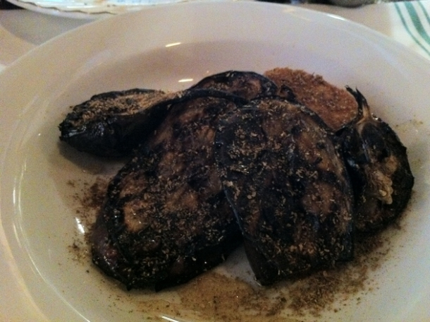 the eggplant trio at st anselm