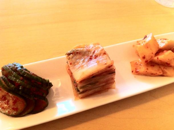 kimchi trio at danji