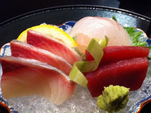 sashimi at hakubai new york