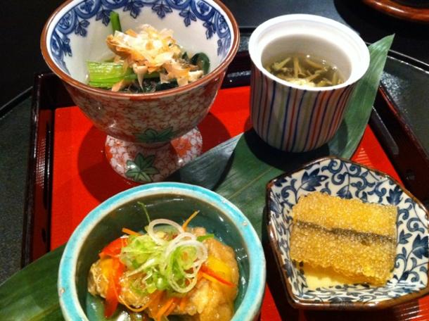 okonomi kaiseki at hakubai