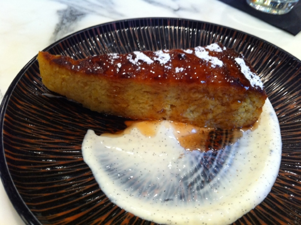 boiled orange and almond cake with orange blossom syrup/jam