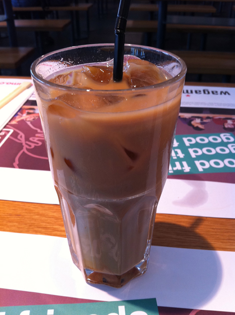 wagamama iced coffee