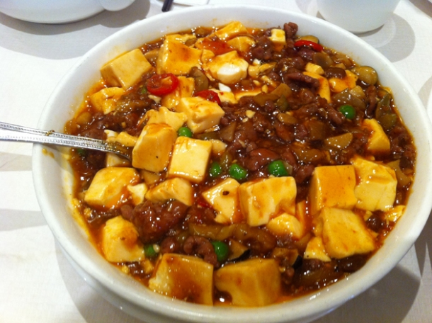 ma po tofu at four seasons wardour street