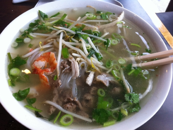special pho at caphe house