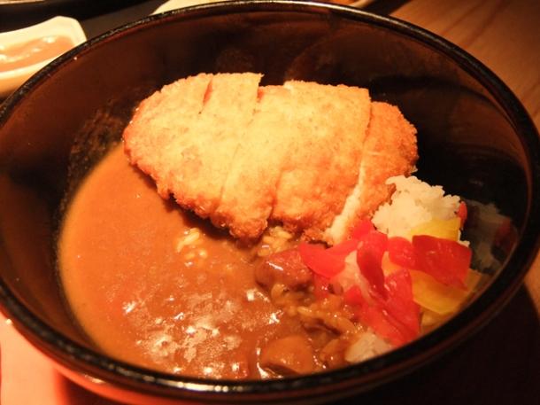 chicken katsu curry at Satsuma