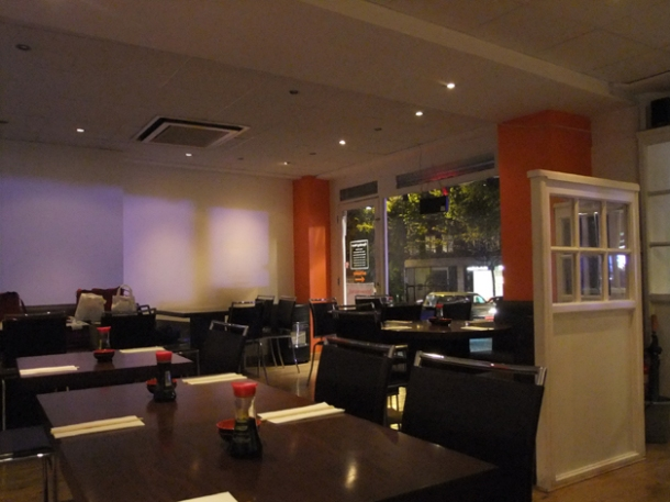 interior of koi finchley