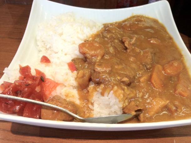 pork katsu curry at ten ten tei