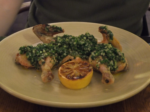 poussin at bread street kitchen