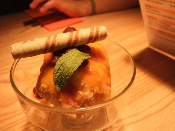 tempura ice cream at satsuma