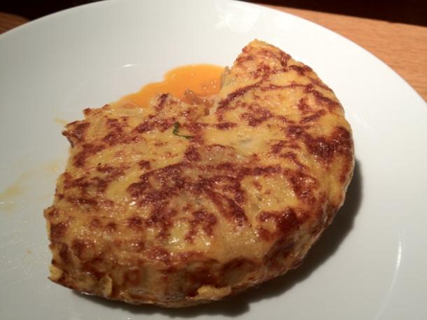 classic tortilla at fino