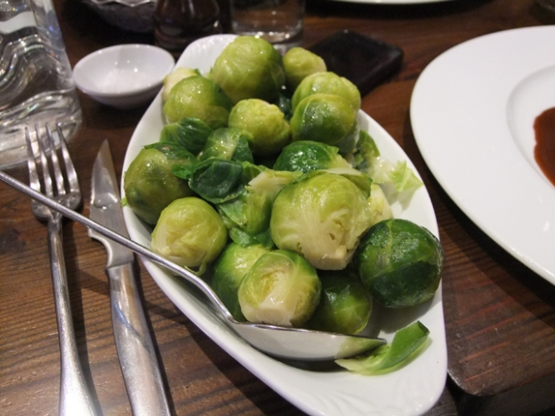 brussels sprouts at about thyme