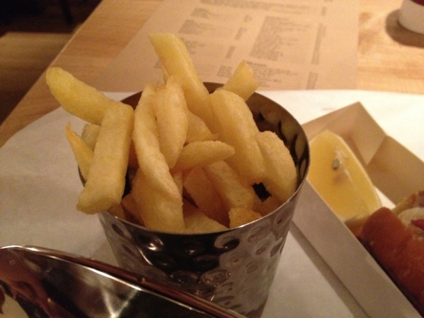 fries at burger & lobster