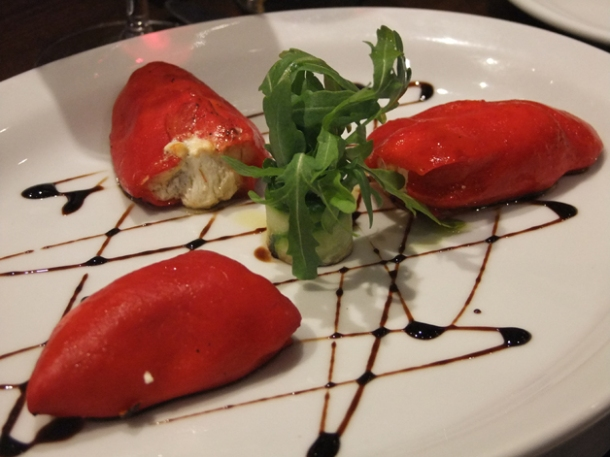 stuffed piquillo peppers at about thyme