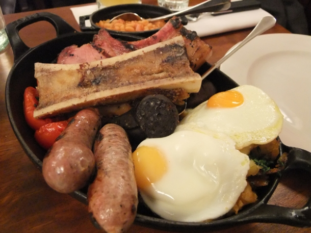 breakfast for two at hawksmoor guildhall city