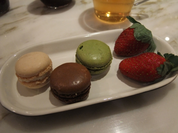 french macarons at greenleaf holborn