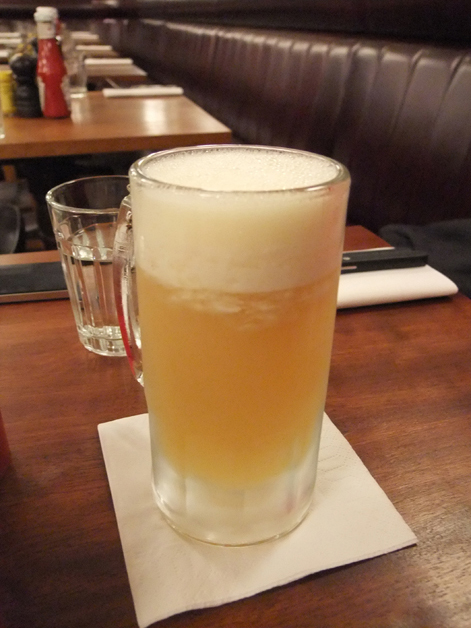 shaky pete shandy cocktail at hawksmoor guildhall city