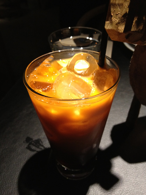 thai iced tea at suda