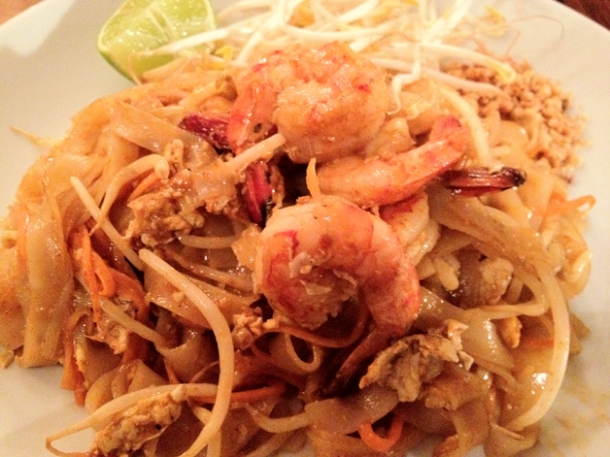 pad thai at kin holborn