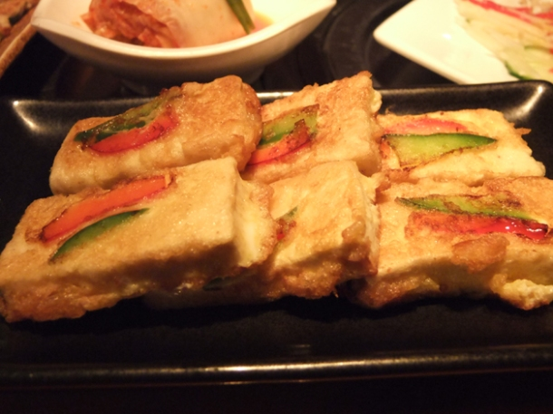 fried tofu at asadal