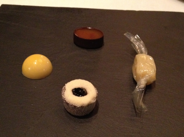 petit fours at anna sacher
