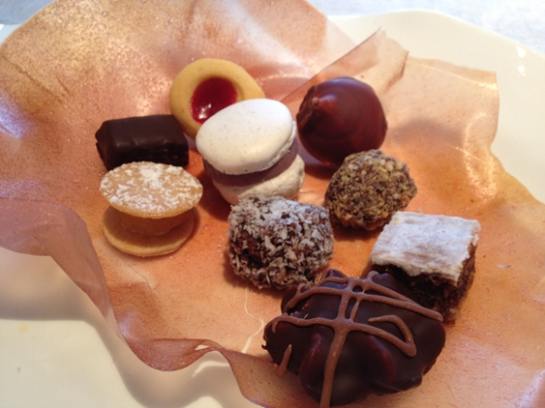 petit fours at steirereck wien
