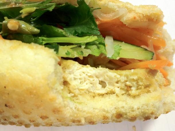 tofu vietnamese sandwich at banh mi 11
