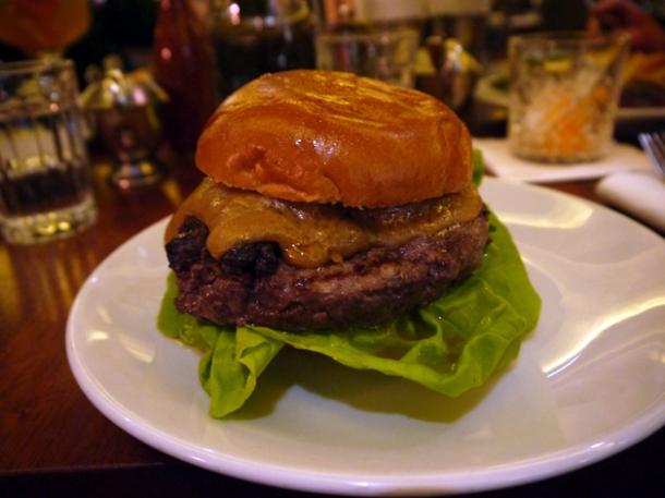 black pudding third burger at hawksmoor seven dials covent garden