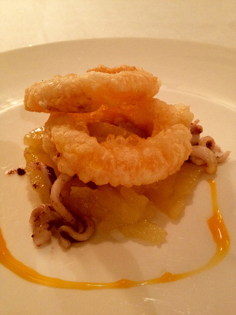 calamari rings at manairo