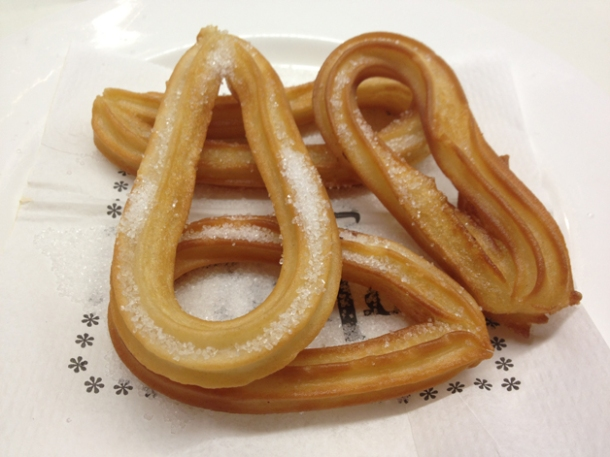 churros at tapas 24