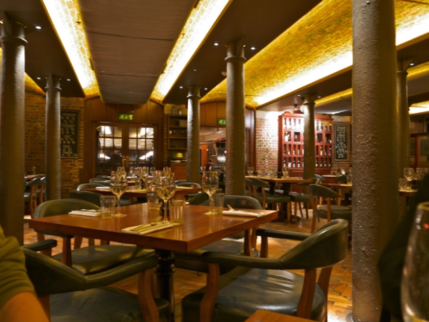 interior of hawksmoor seven dials covent garden