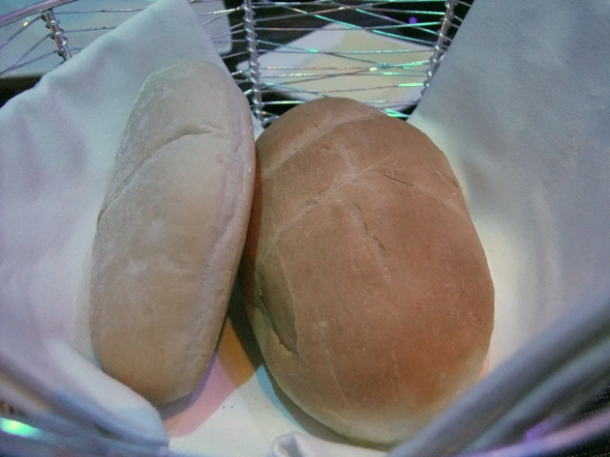 hard dough style bread at bubba's