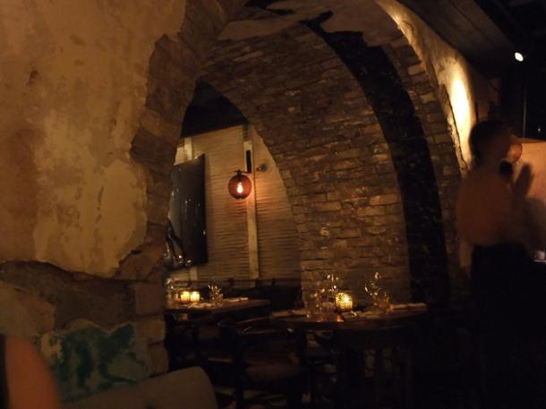 restaurant interior at la bodega negra