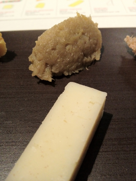 ossau fermier and artichoke confit at moments mandarin oriental hotel barcelona