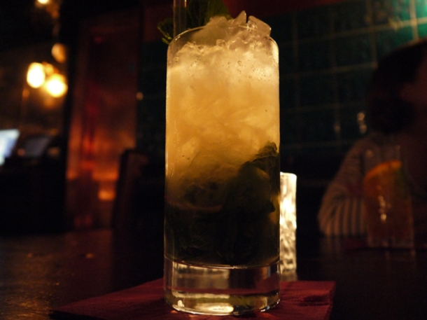 virgin apple mojito at hawksmoor shoreditch