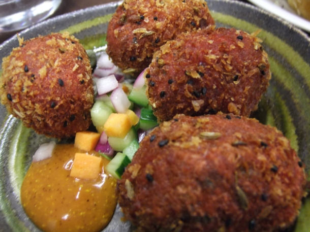 bangla scotch eggs at cinnamon soho