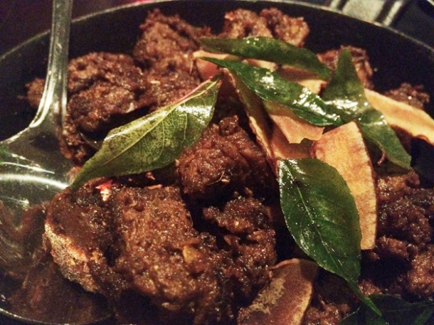 beef sukha at carom