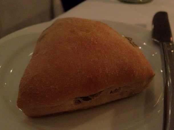 olive bread at pattersons