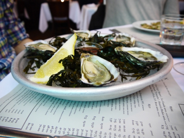 oysters at rivington grill shoreditch